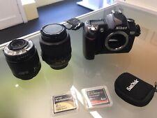 Nikon D70 Package - Camera , Lenses , Extras