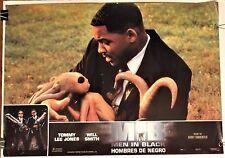 MEN IN BLACK ~ 1997 Spanish movie poster ~ WILL SMITH & ALIEN