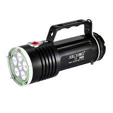 ARCHON DG60 WG66 6*CREE XM-L2 U2 LED 5000LM Diving Flashlight w/ Battery&Charger