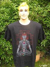 Chakra, Tántrico, Buda, Meditación, Yoga, Mandala Boho Oriental Estilo Camiseta