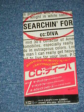 """CC : DIVA Japan Only 1988 NM Tall 3"""" inch CD Single SEARCHIN' FOR"""