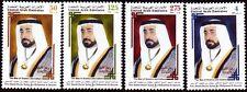 UAE 2004 ** Mi. 770/73 Sultan Bin Mohammed Al Qassimi