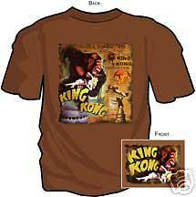 KING KONG ORIGINAL ~ CHOCOLATE T-SHIRT LARGE