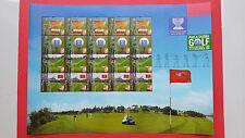 1999 Malaysia World Cup Golf - Stamp Sheet
