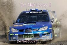 Petter Solberg Subaru Impreza WRC2006 World Rally Championship 2006 Photograph
