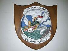 New listing Ww2 Uss Fort Mandan Lsd 21 Plaque Casa Grande-Class Doc 00004000 k Landing Ship