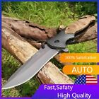 """8"""" Spring Assisted Open Folding Pocket Knife Hunting Combat Tactical Knives"""