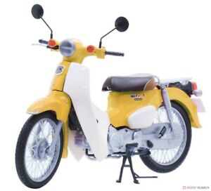 Fujimi: 1/12 Honda Super Cub 110 (Pearl Flash Yellow) - Model Kit