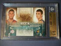 BLAKE GRIFFIN/T HANSBROUGH 2009-10 R&S Studio Combo Rookies #10 BGS GEM MINT 9.5