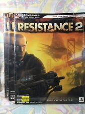 Resistance 2 Game Strategy Guide Collection NEW! PS2 Nintendo Xbox