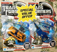 Transformers Movie Dark of the Moon Nitro Bumblebee + Thundercracker New Sealed