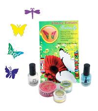 Eulenspiegel Glitzer-tattoo-Set - Butterfly