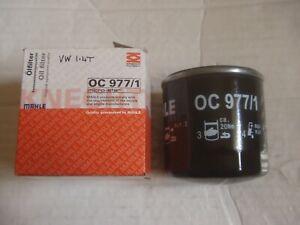 NEW MAHLE OC977/1 OIL FILTER For AUDI SEAT SKODA VW VOLKSWAGEN