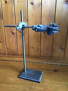 Vintage Test Tube Clamp & Stand - Laboratory Stand With Clamp -  from GALLENHAMP
