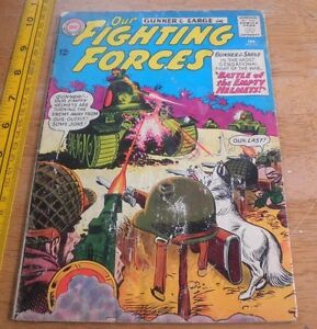 Our Fighting Forces #82 (Feb 1964, DC) VG+