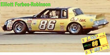 CD_3097 #86 Elliott Forbes-Robinson 1981 Cal-Tex Buick   1:43 Scale Decals ~NEW~