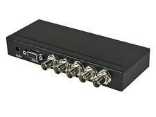 3G SDI BNC Coax 4 IN to 1 OUT Switch Switcher Selector 1080p 60Hz HD 720p 60Hz
