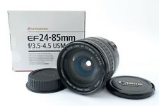 Canon Zoom Lens EF 24-85mm f/3.5-4.5 Wide Zoom USM [Exc #287A 419