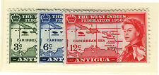ANTIGUA 1958 CARIBBEAN FEDERATION MNH