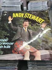 Andy Stewart I Love To Wear The Kilt 1969 Columbia LP