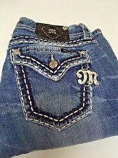 Miss Me Women's Designer Jeans Size  29 30 X 34  EUC