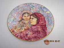 Vintage Lucia&Child by Artist Edna Hibel Plate Royal Doulton 1977 #11219/15000