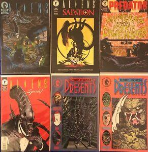 Lot of 6 - Aliens & Predator Comics * Dark Horse * See Pics
