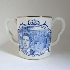 Adams Prince Charles Princess Diana Wedding Loving Mug Dual Handles 1981England