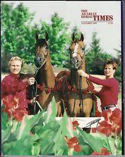 Arabian Horse Times - November 1999 - Vol. 30, No. 6 - Gatefold Cover