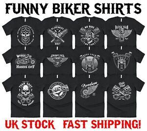 Funny Biker T-shirt Funny Motorbike Motorcycle Legend Christmas Gift Men's Dad
