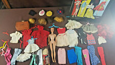 1960's Barbie Doll Original with Carry Case Clothing, Wigs, Accessory Mattel Lot
