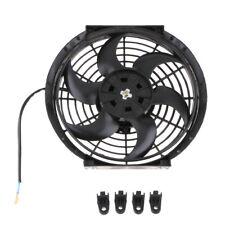 Ventilateurs Remorque de Camion Voiture 10 Pouces 6 Lames 12v 80w Radiateur