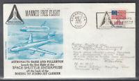 USA Beleg 1977 Manned Free Flight Space Shuttle Enterprise Haise & Fullerton