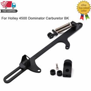 Throttle Cable Carb Bracket 4500-Black Fits Holley 4500 Series Carburetor