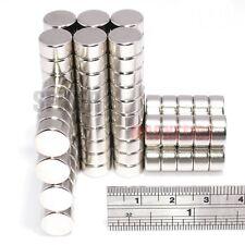 Imanes 10x5 Mm de Neodimio Disco Lote a granel fuerte imán redondo Neo 10mm diámetro x 5mm