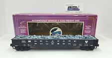 MTH DELAWARE AND HUDSON GONDOLA w/JUNK LOAD 20-98007 -- USED