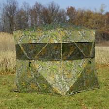 Rhino Blinds Standard Mossy Oak Obsession Hunting Blind 600 Model MOO-104
