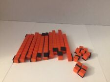 23 Magnet Pc Math Manipulatives Orange Base Ten Rod Units Home School