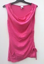 Bench Ladies Pink vest top blouse gym active wear Size XS