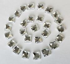 50! Hot Fix 8 Mm Cristal Shisha Espejo plazas para Stick 4 D I Y Tarjeta O Tela