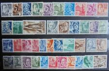 ALLIED OCCUPATION 1947 Complete Issues 41 MNH