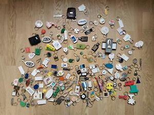 Gros lot De Porte-clés pour collection (diverses Marques, Diverses Formes...)