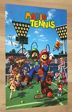 2000 Nintendo Mario Tennis / Turok 3 Shadow of Oblivion small Poster 30x44cm
