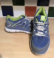 Karrimor Duma Run Blue Lilac/Lime Running Trainers UK 7 EU 41