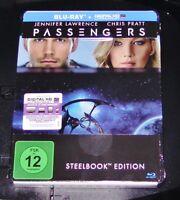 Passengers Con Chris Patt Limitata steelbook blu ray Spedizione più Veloce Nuovo