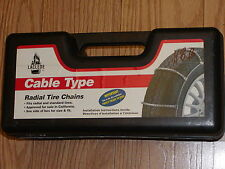 SNOW/TIRE CABLE CHAINS  LACLEDE #1026,  225/40R14, 205/50R15, 205/35ZR18