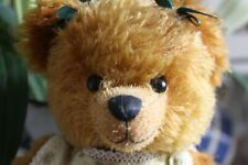 More details for robin rive bear 'summer' 17/100 yellow dress pretty girl bear collectros