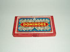 Vintage Victory Crystalite Dominoes by G. J. Hayter & Co Ltd. 1940/50s