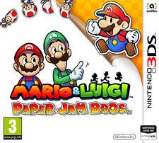 Nintendo 3ds Mario and Luigi Paper Jam Bros.