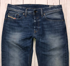 Mens DIESEL Waykee Jeans W29 L32 Blue Regular Straight Wash 0839C_STRETCH 🇮🇹